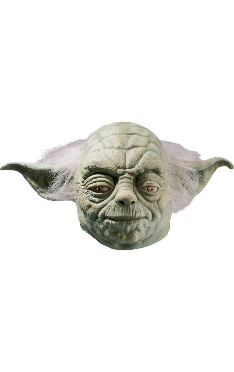 Adult Deluxe Yoda Latex Facepiece