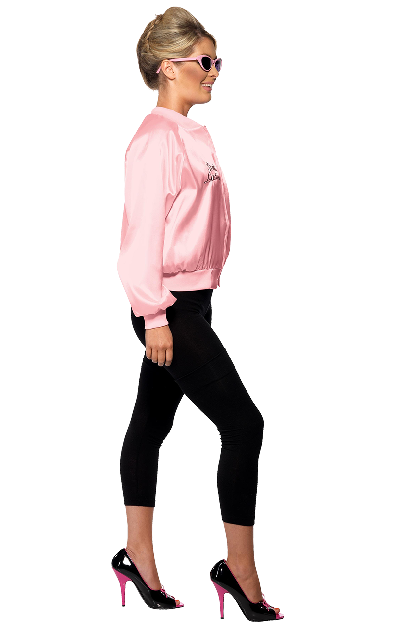Womens Grease Pink Jacket Costume