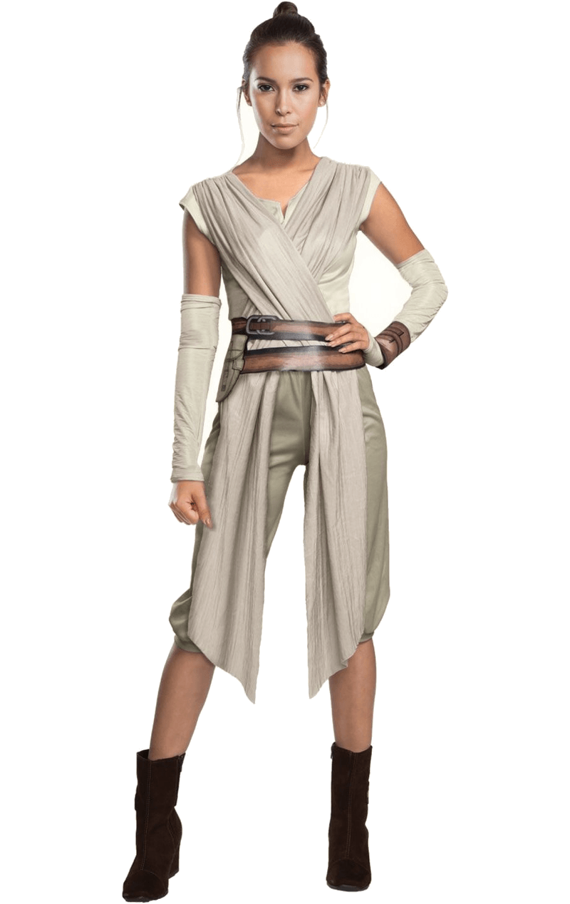 Adult Ladies Star Wars Rey Costume