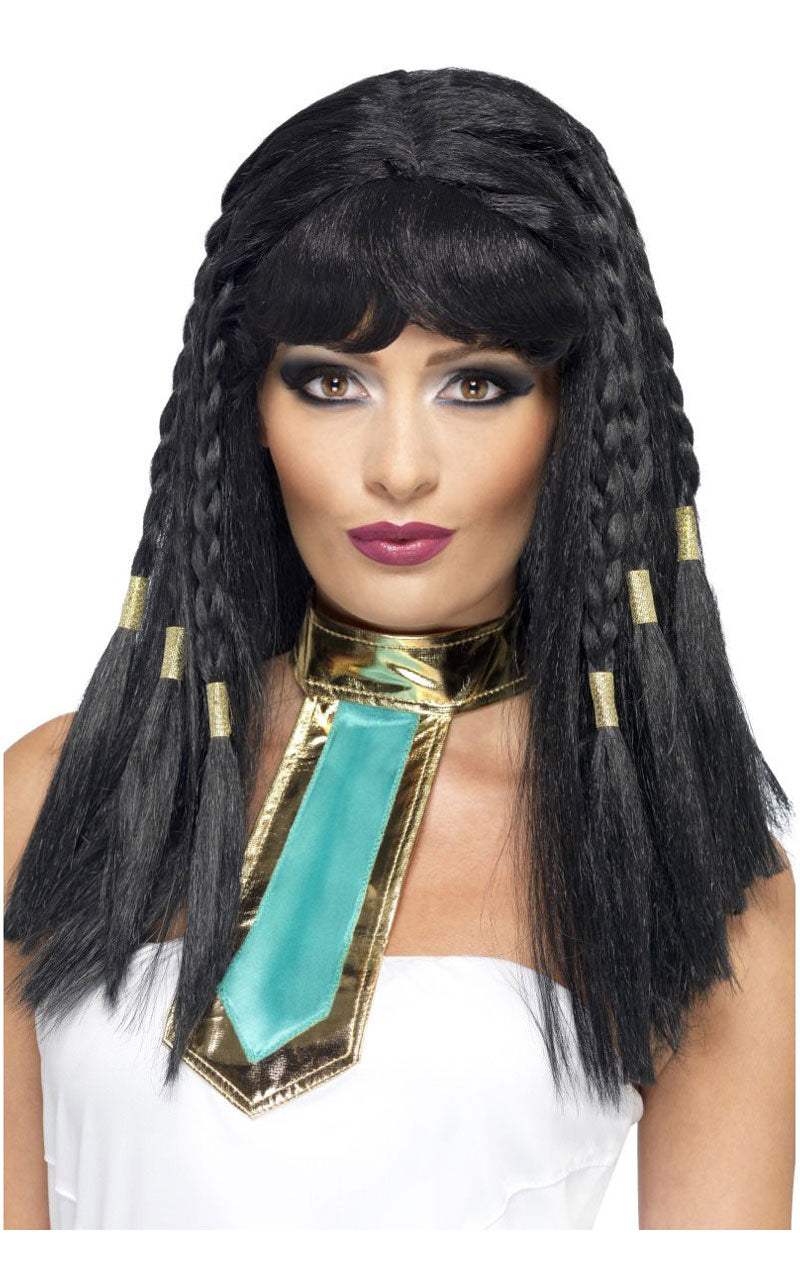 Black Cleopatra Wig With Braids