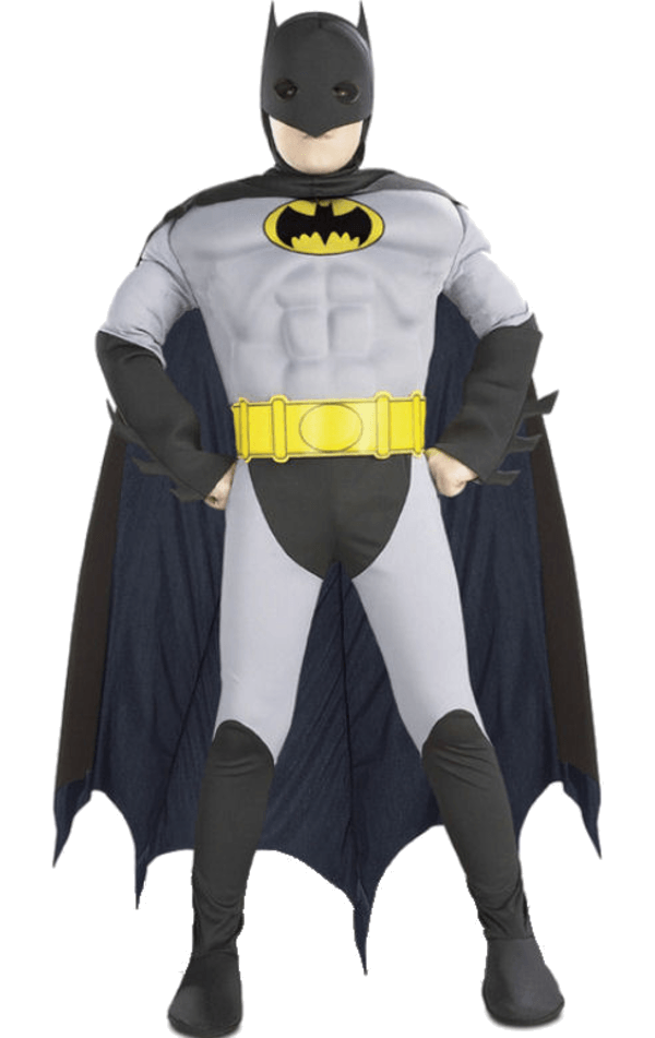 Child Muscle Chest Batman Super Hero