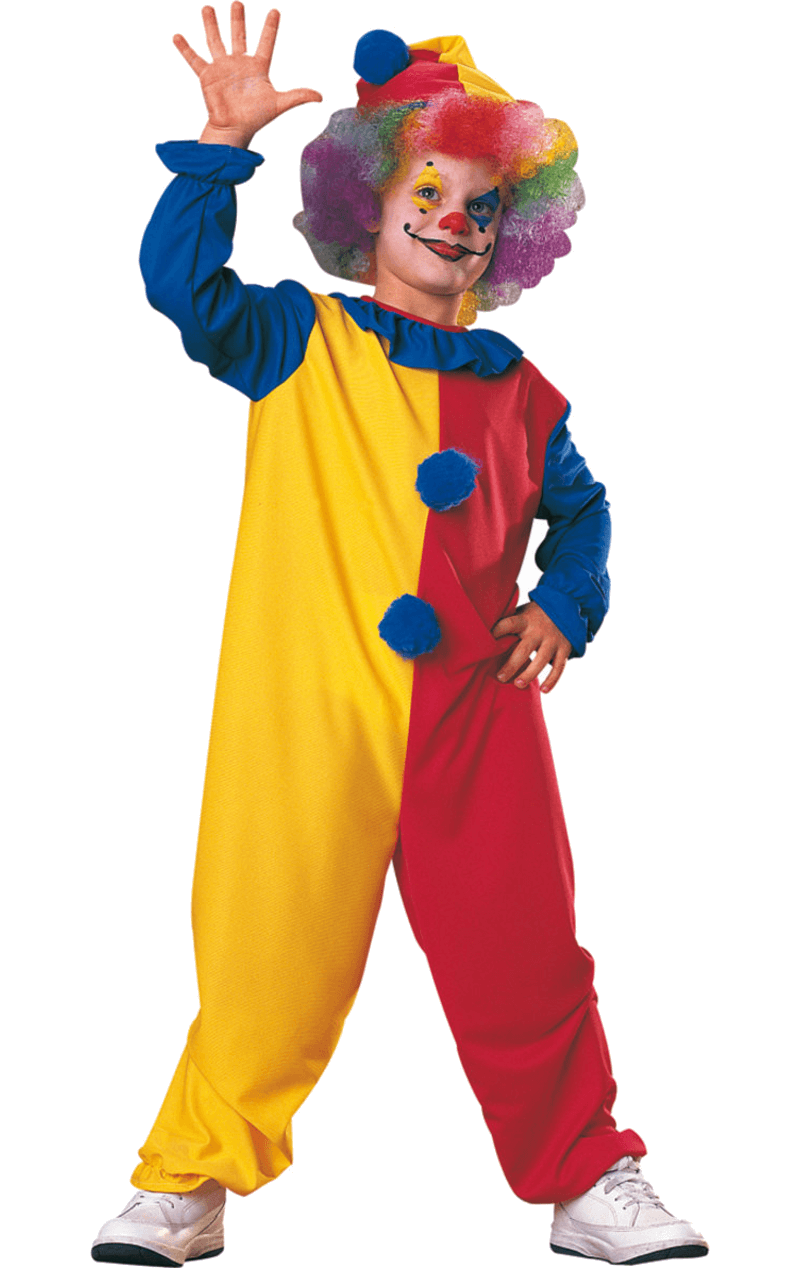 Child Simple Clown Costume