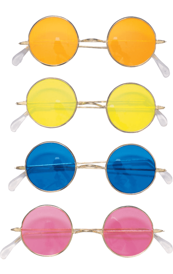 Adult Round Hippie Sunglasses