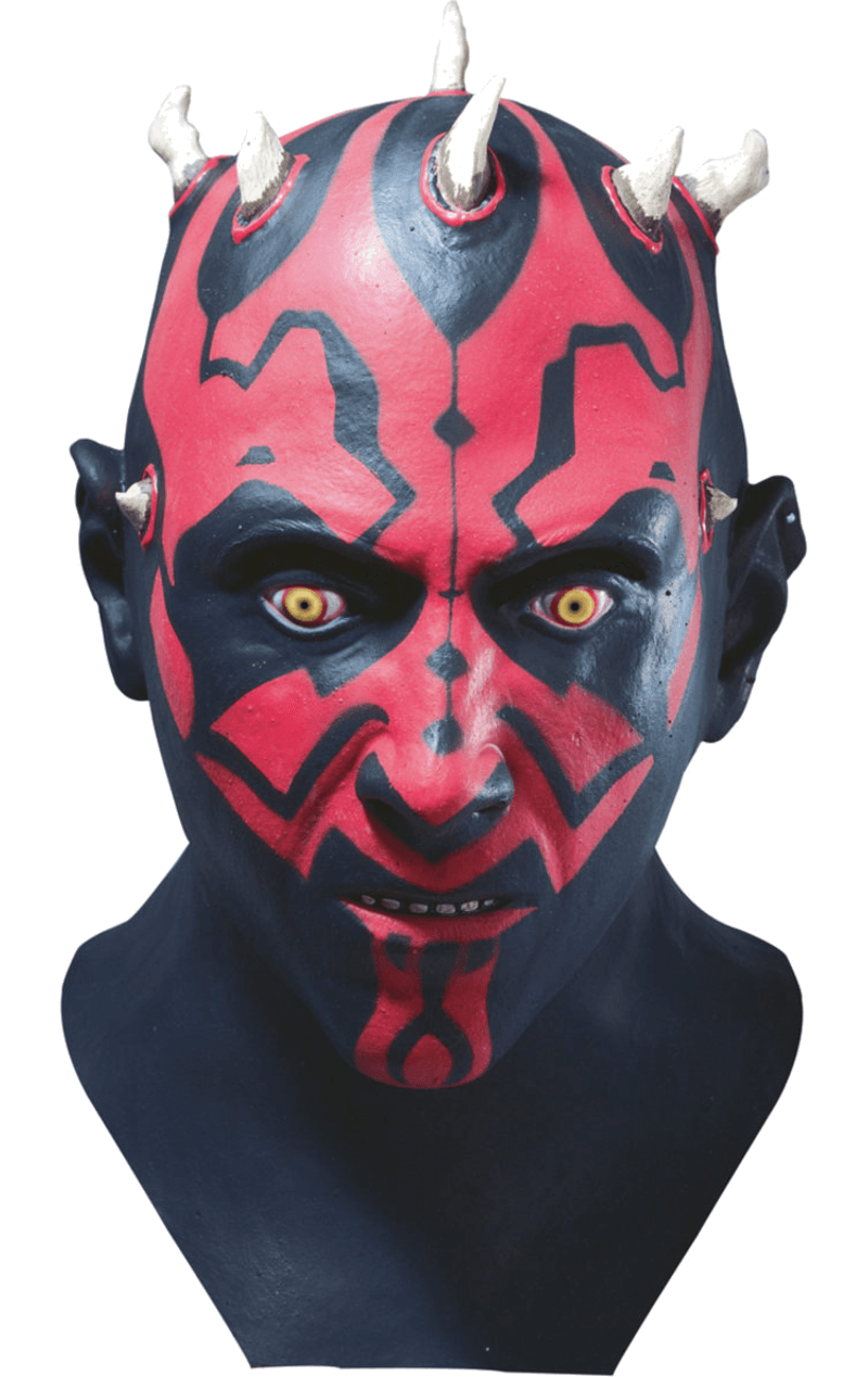 Adult Darth Maul Deluxe Latex Facepiece