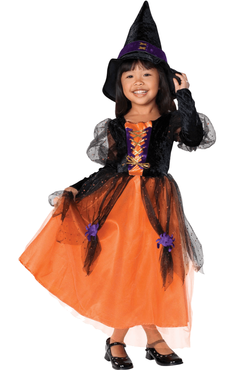 Girls Pretty Witch Costume