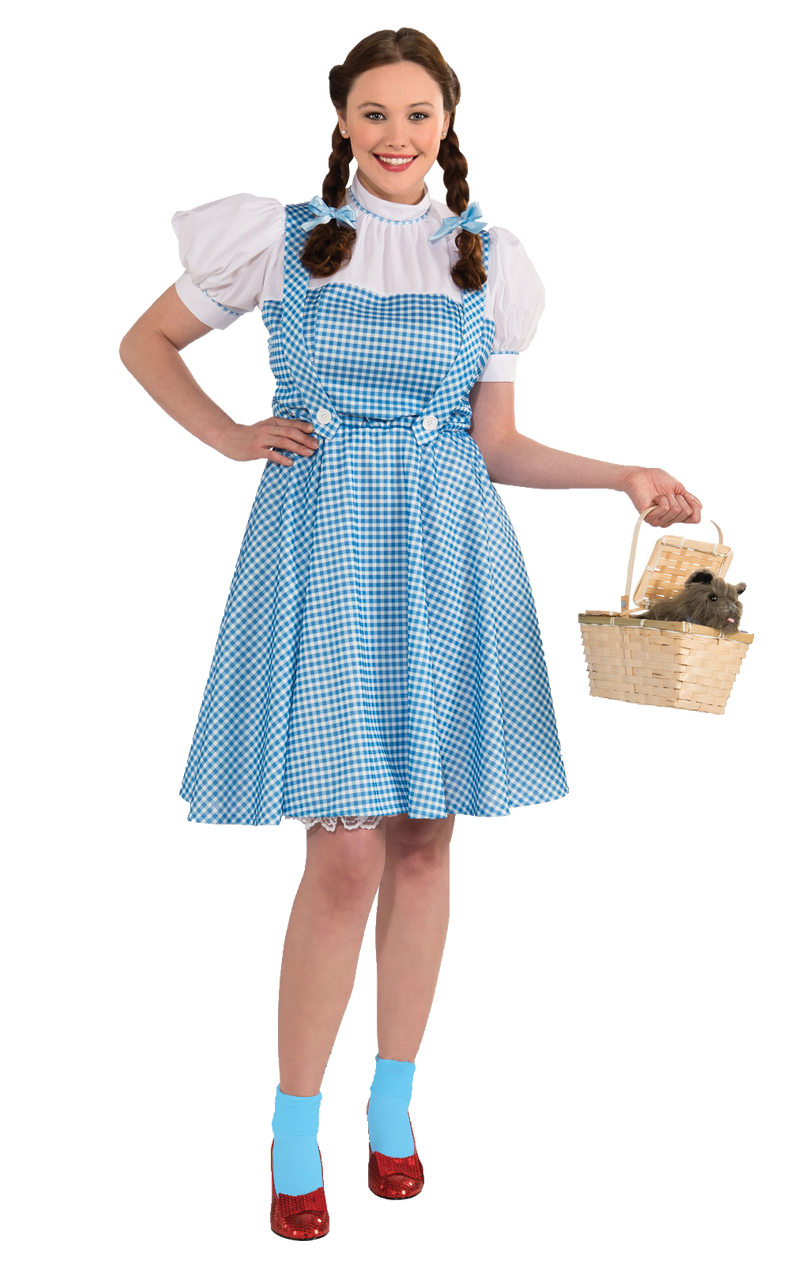 Official Dorothy Wizard of Oz Costume (Plus Size)