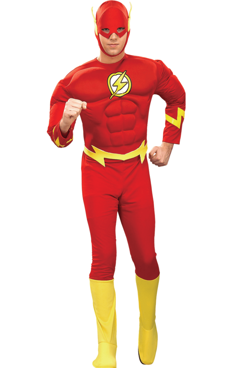 Adult The Flash Superhero Costume