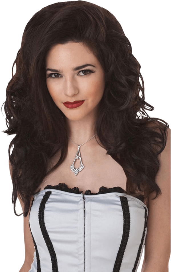 Seductress Wig BRUNETTE