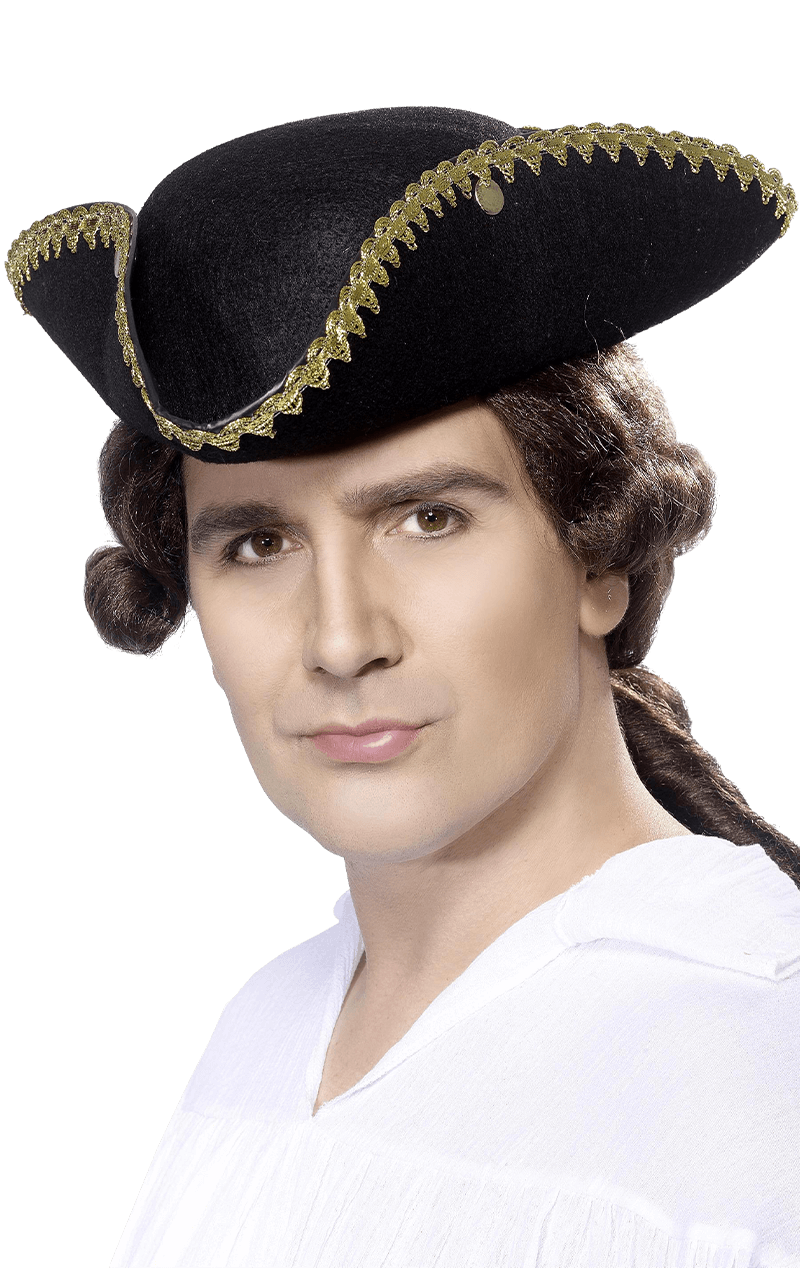 Mens Tricorn Hat