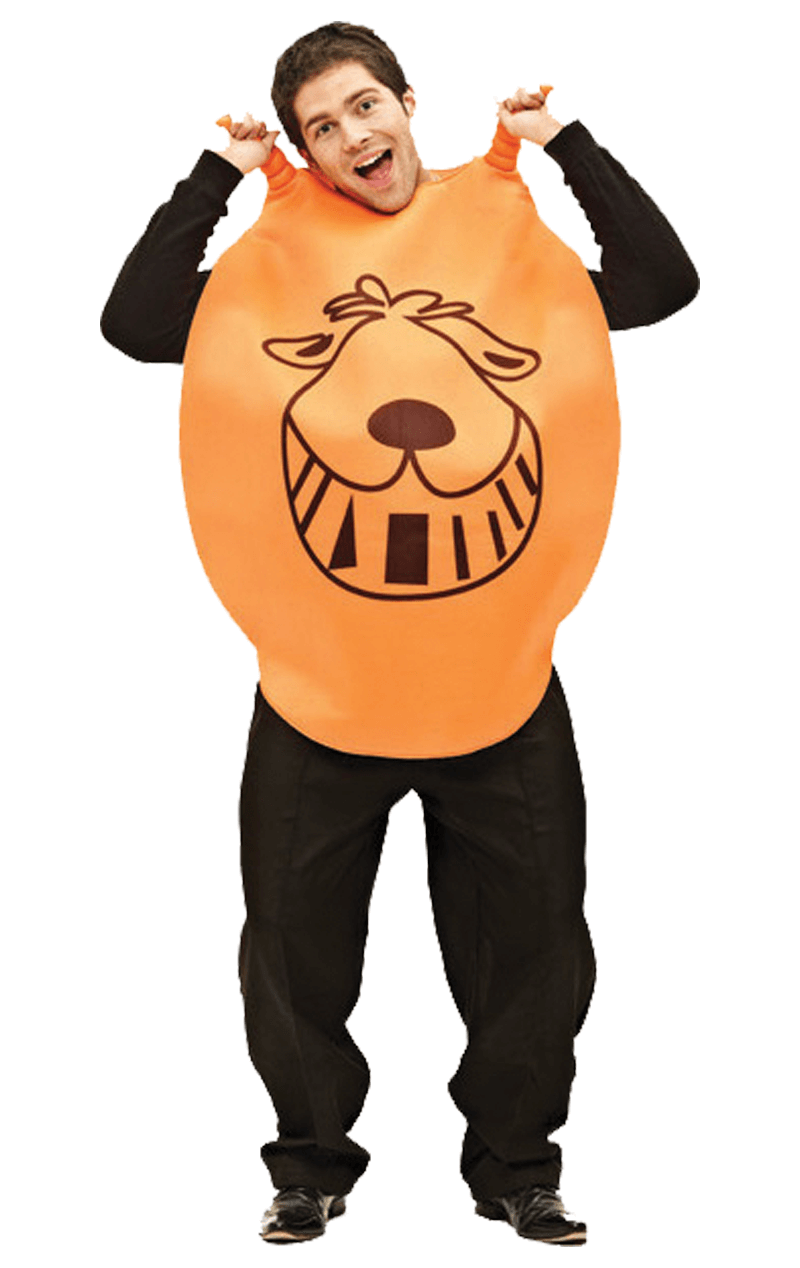 Adult Orange Hopper Costume