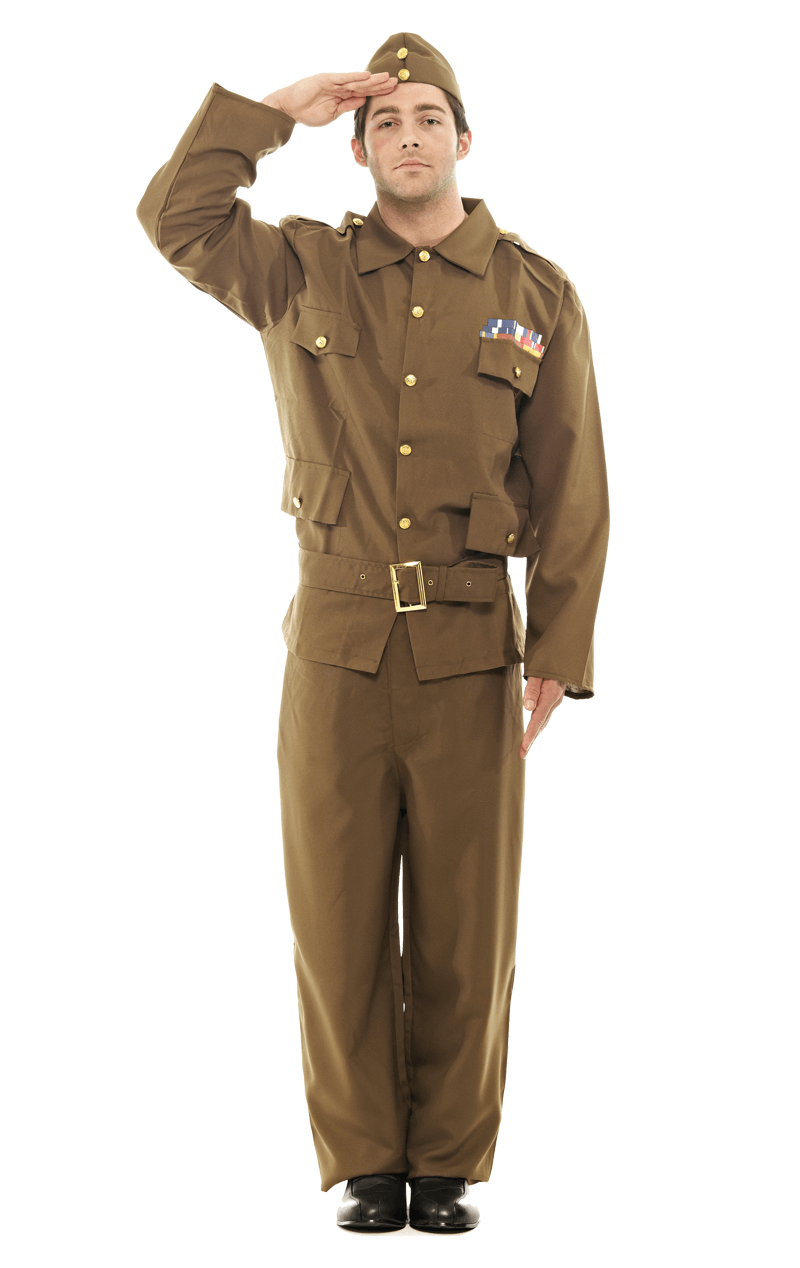 Adult Home Guard Army Costume