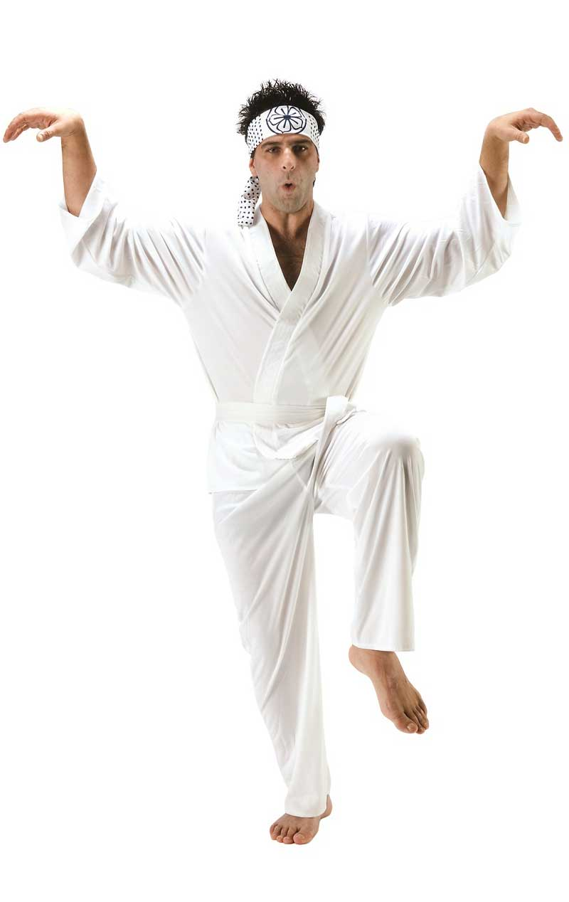 Adult Daniel San Karate Kid Costume