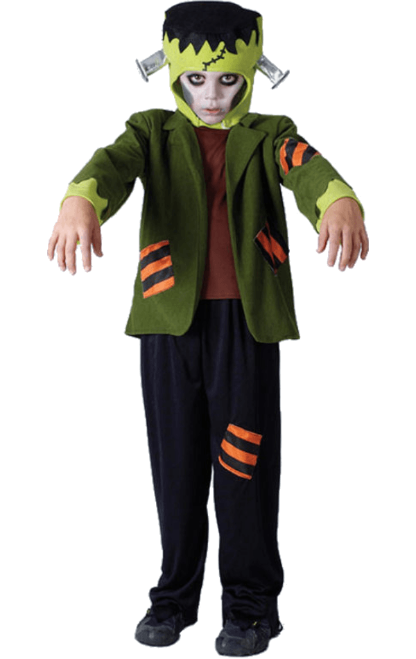 Child Frankensteins Monster Halloween Costume