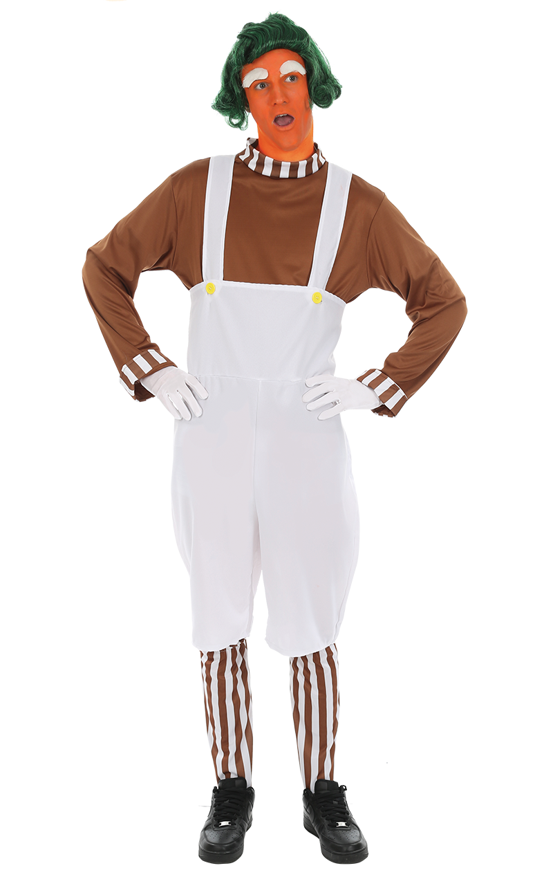 Mens Oompa Loompa Costume