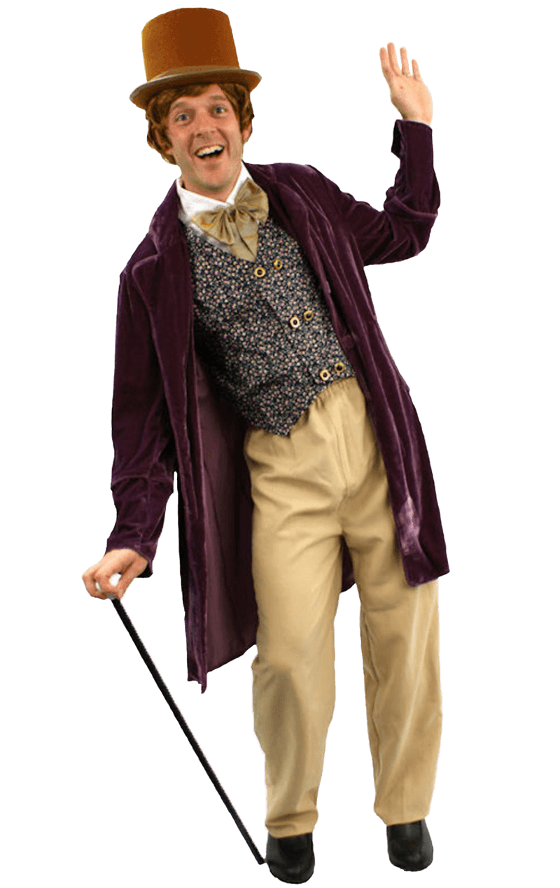 Mens Willy Wonka Movie Costume