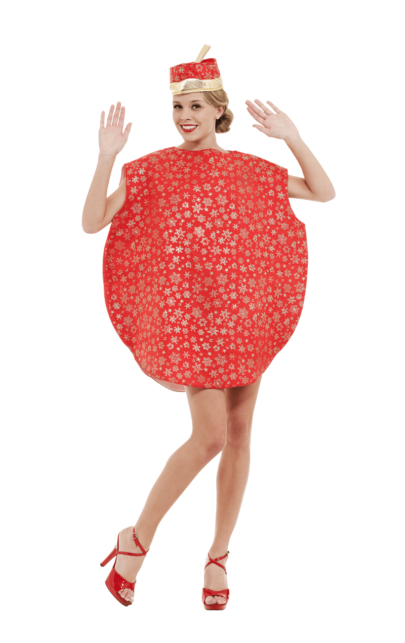 Adult Bauble Christmas Costume