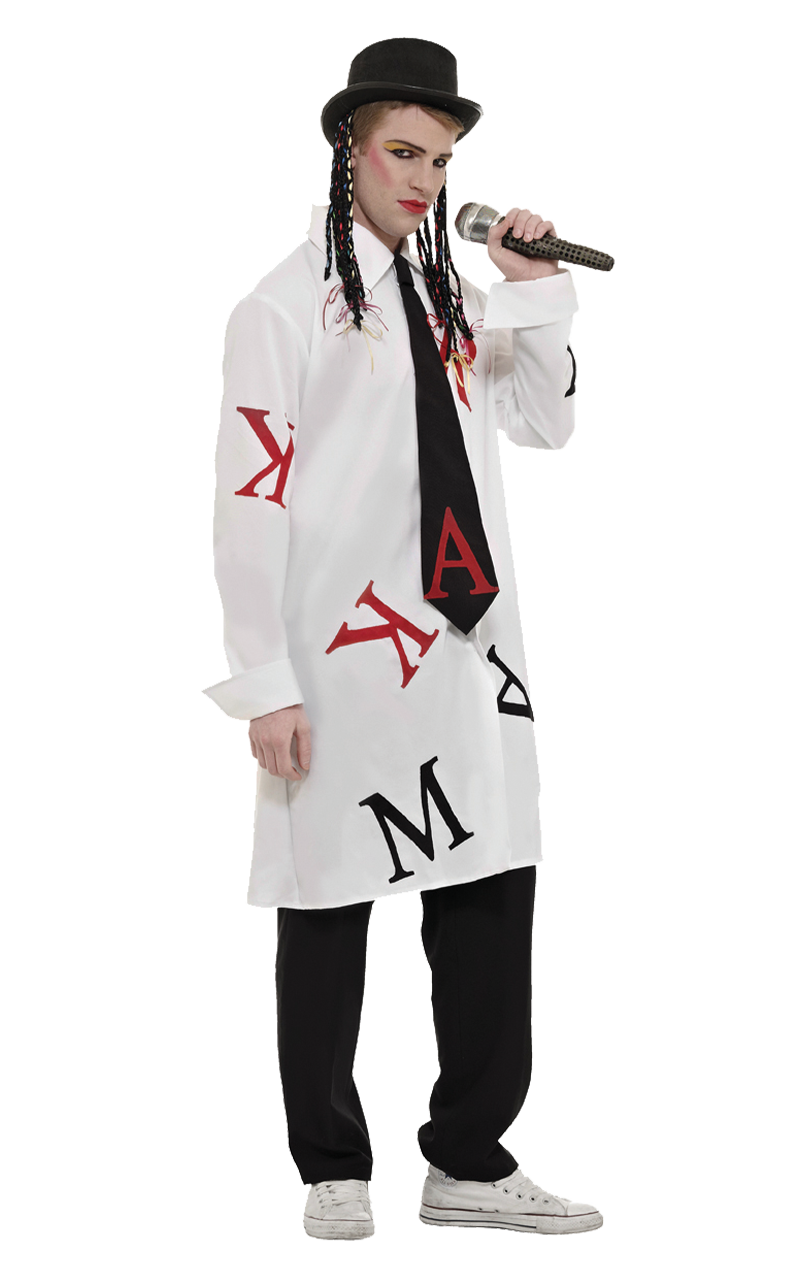 Adult Karma Chameleon Boy George Costume