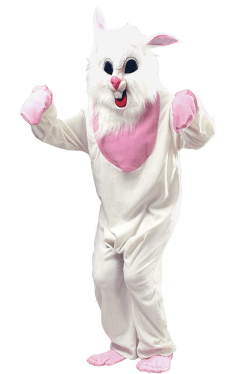 Adult White Bunny Animal Costume