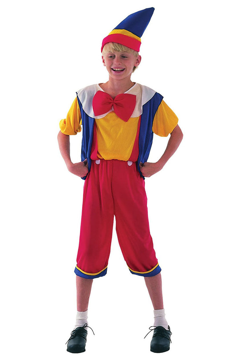 Child Storybook Pinocchio Costume