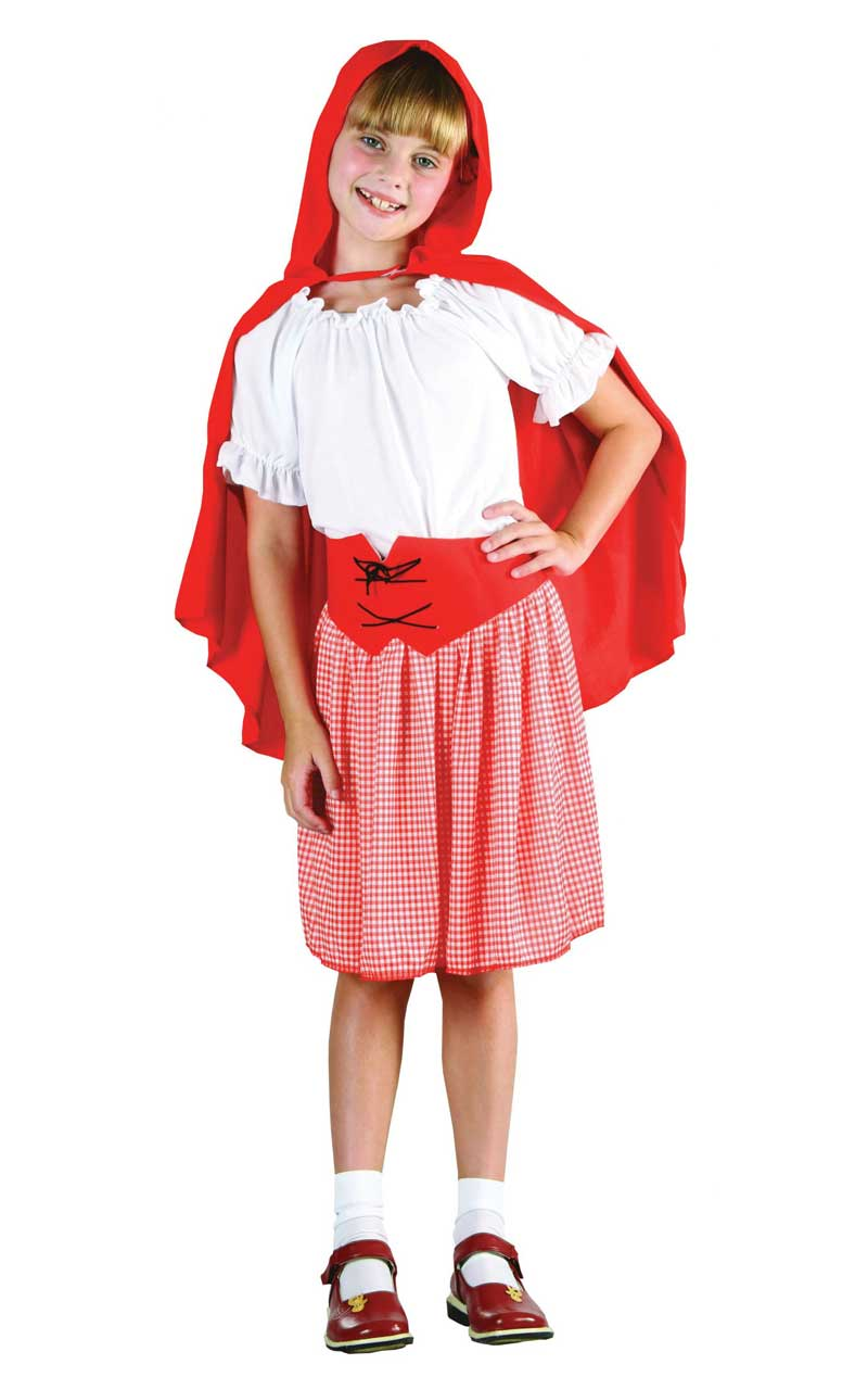 Child Red Riding Hood Girl Costume