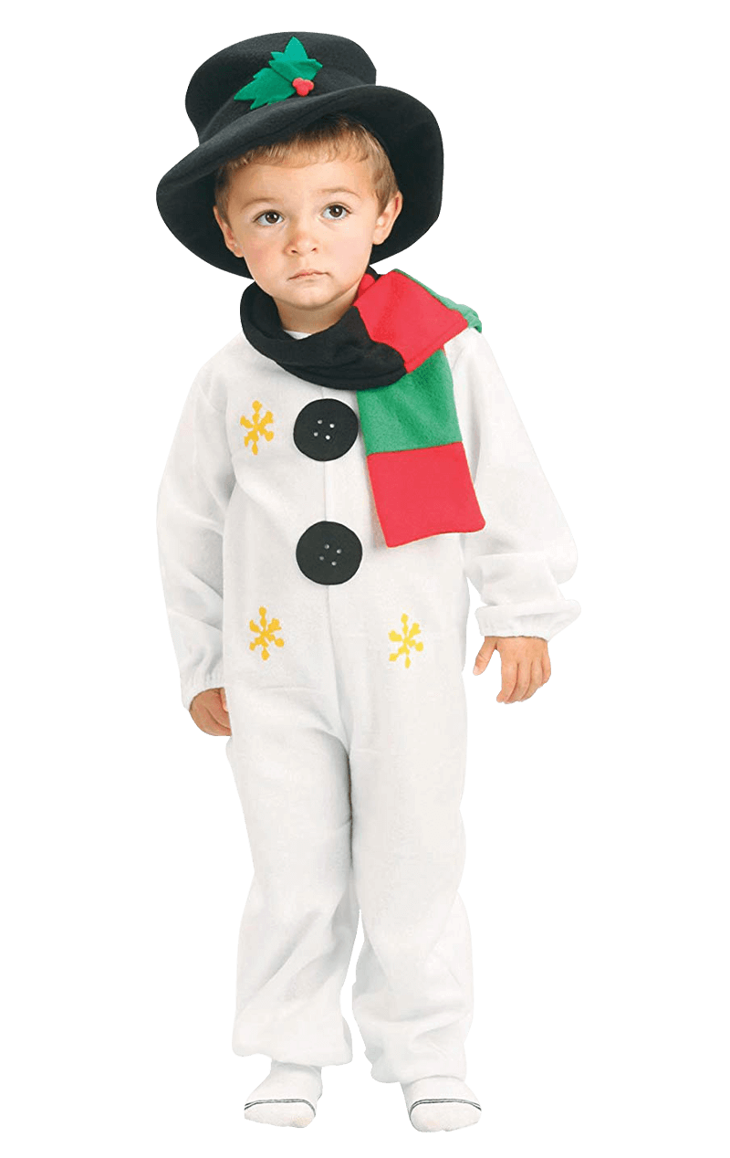 Kids Cute Snowman Costume