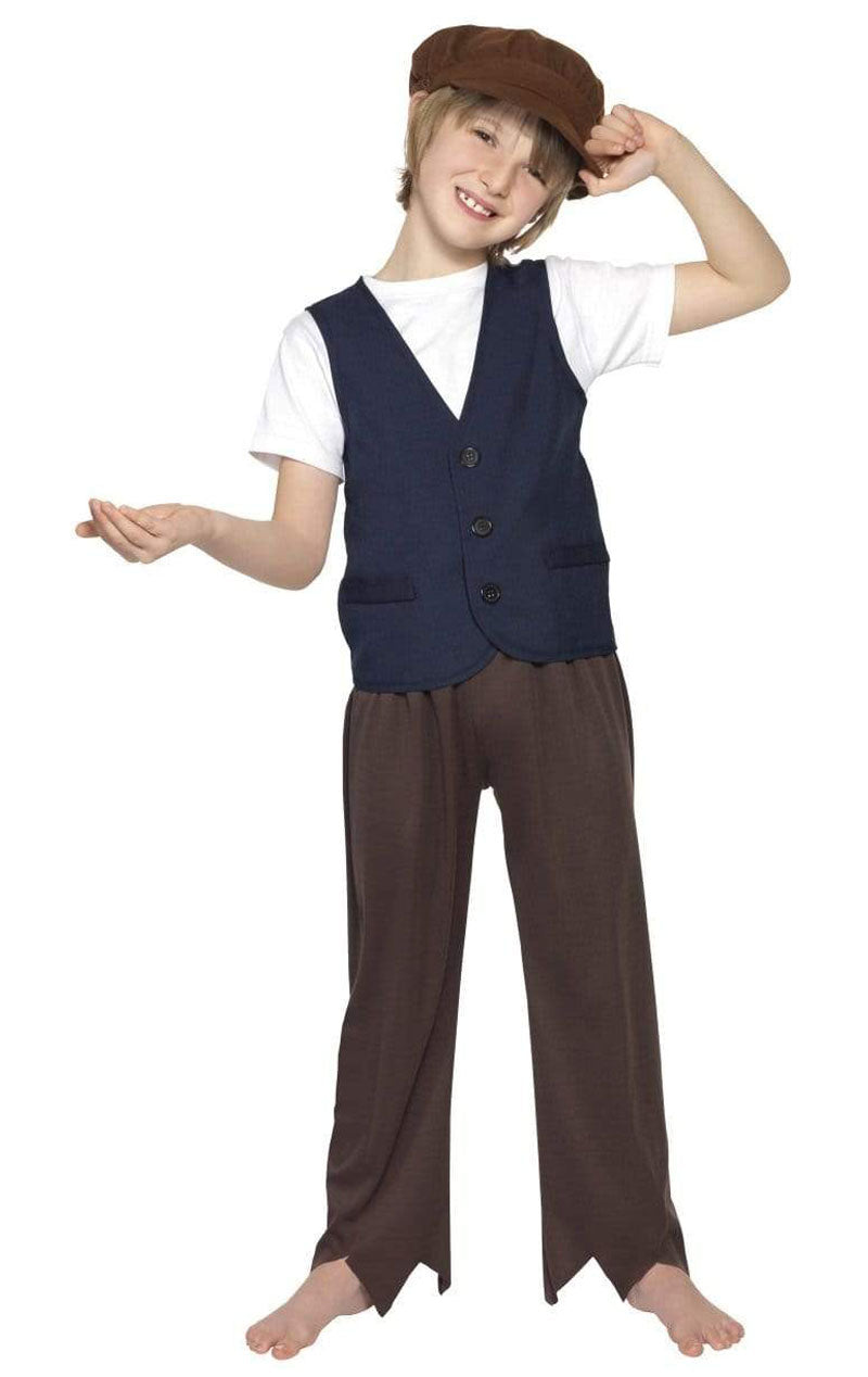 Child Victorian Poor Peasant Boy Costume