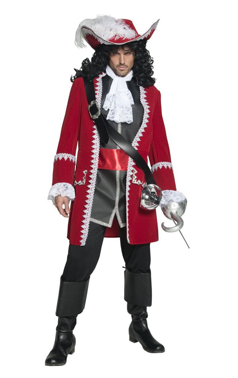 Mens Captain Hook Costume