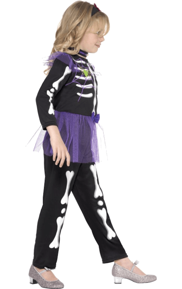Child Skellie Punk Girl Costume
