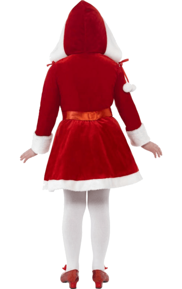 Child Little Miss Santa Costume
