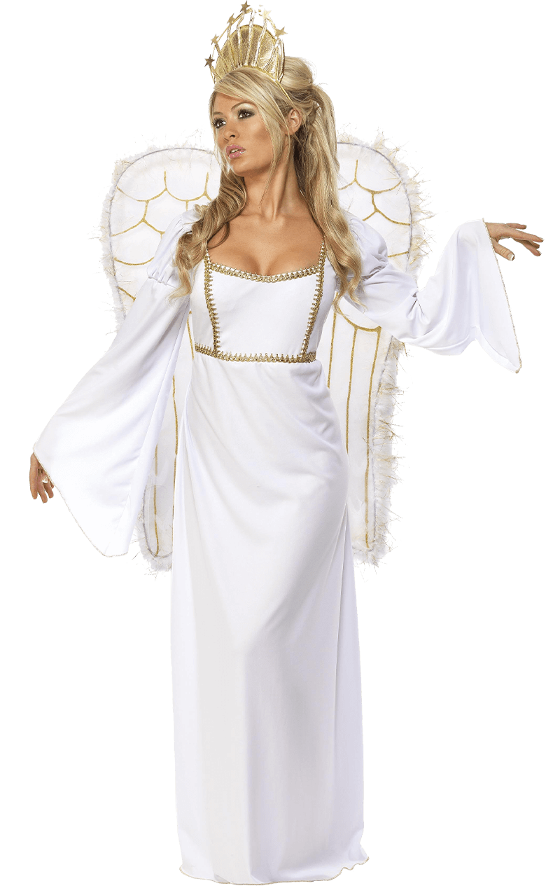 Adult Angel Costume with Wings