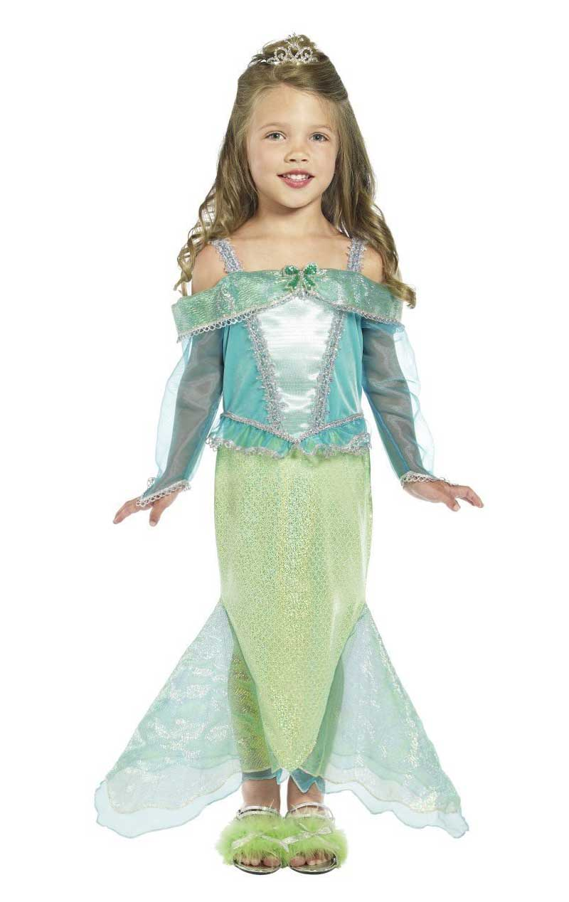 Child Mermaid Princess Outfit