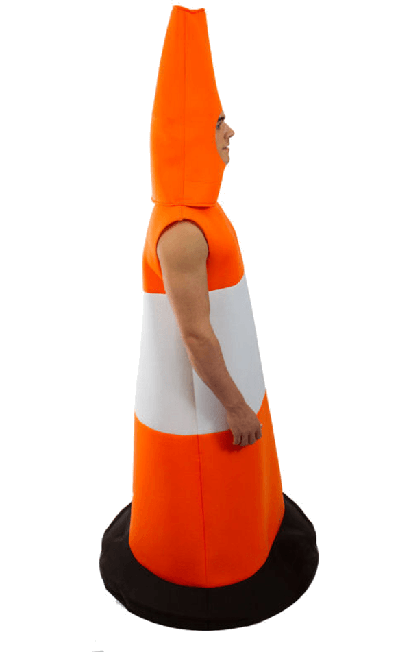 Mens Road Cone Costume