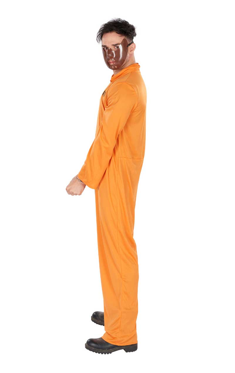 Adult Orange Prisoner Costume