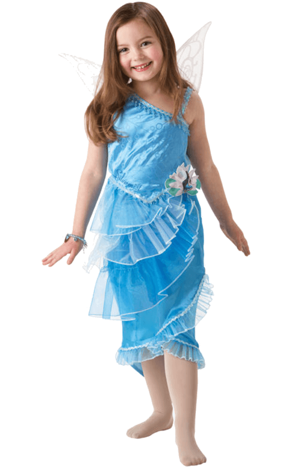 Child Silver Mist Fairy Disney Costume