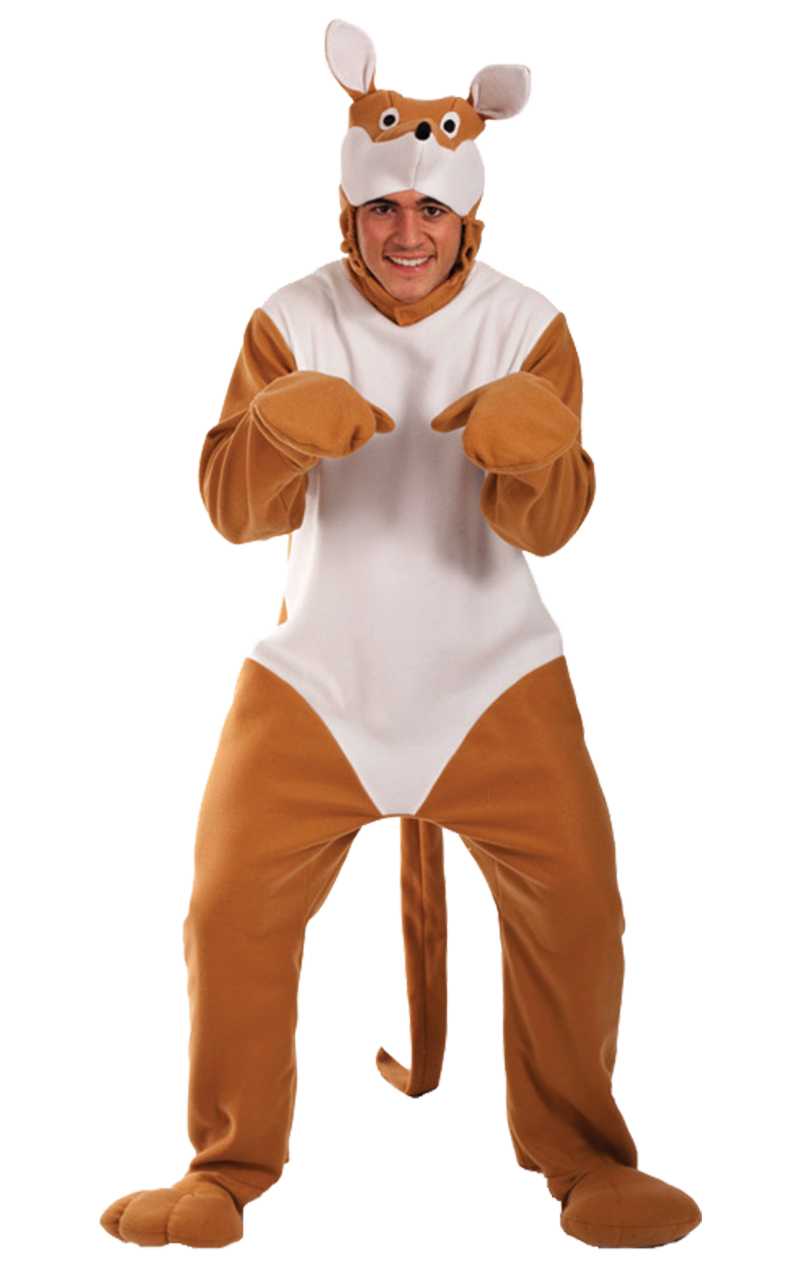 Adult Kangaroo Animal Costume
