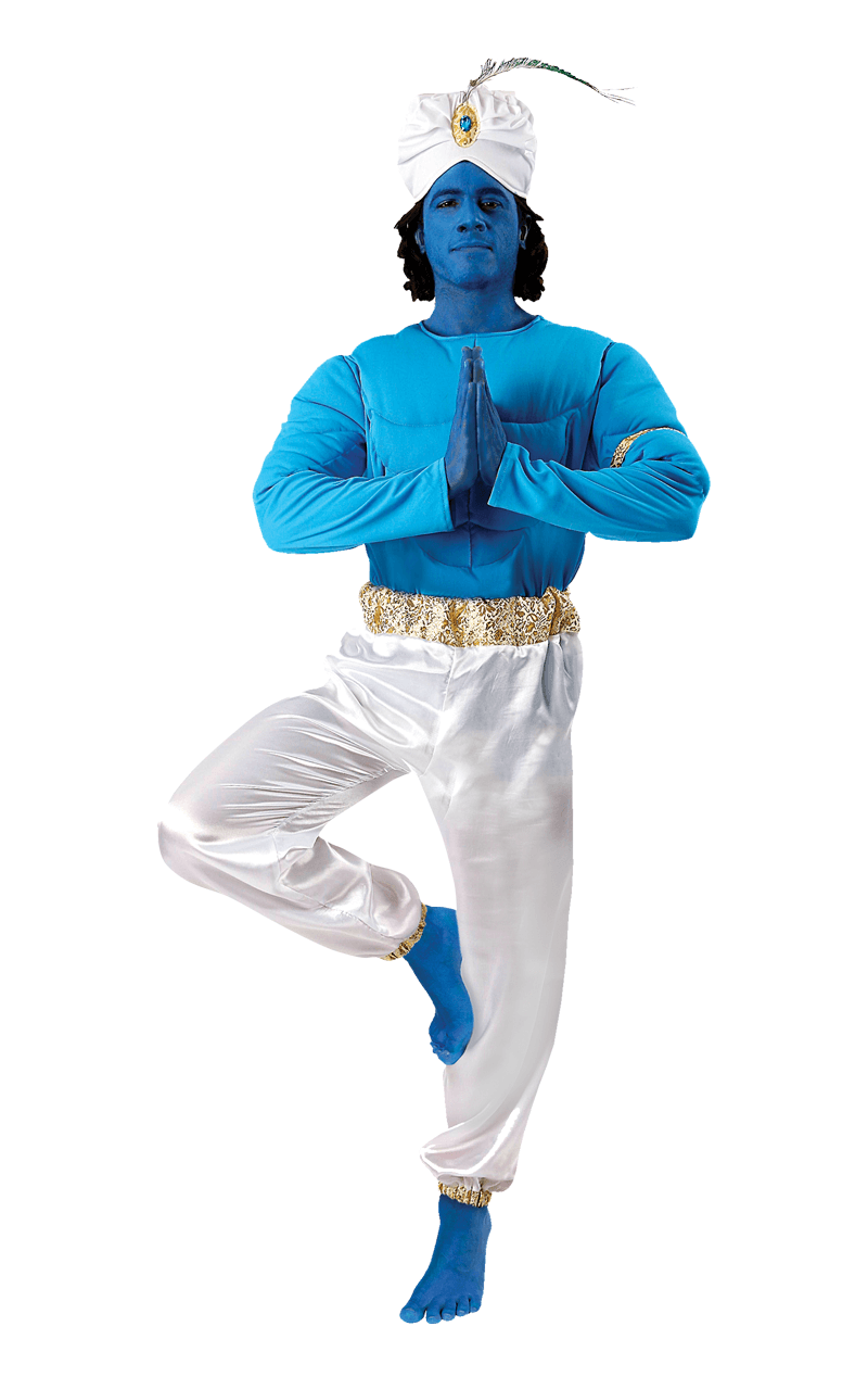 Mens Genie Aladdin Movie Costume