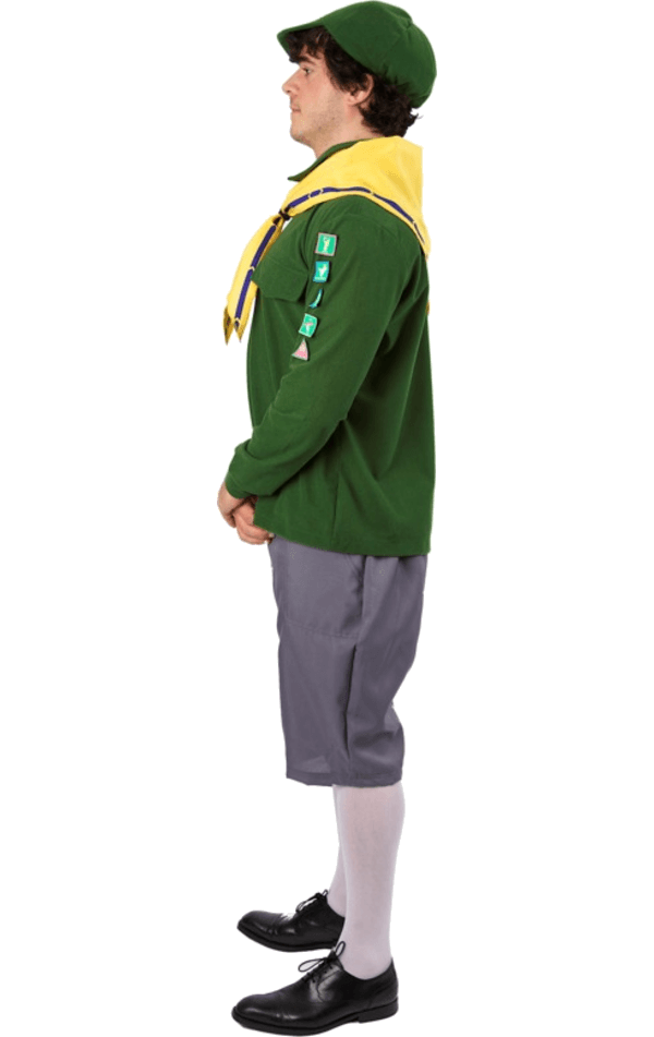 Mens Boy Scout Uniform Costume