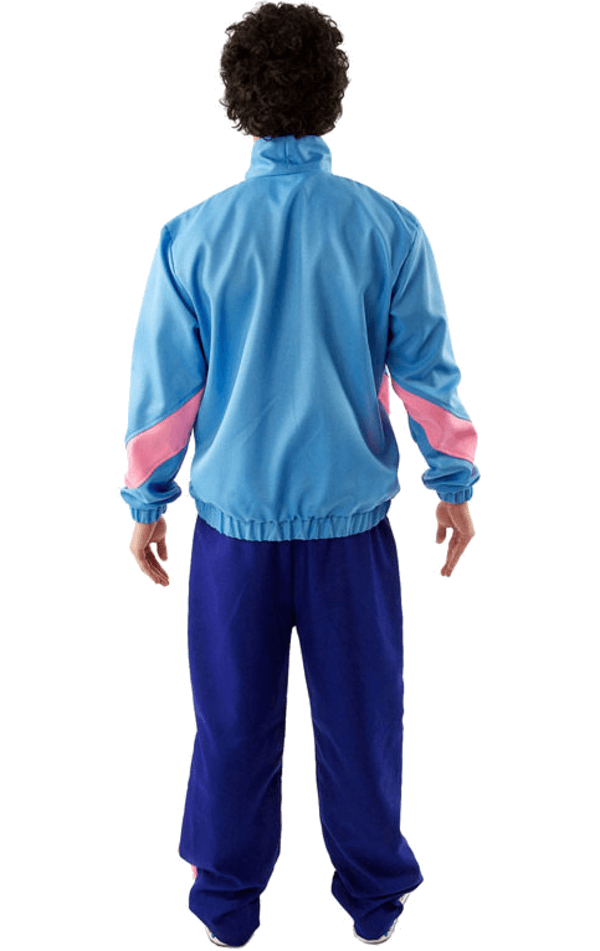 Adult 1980s Shell Suit Scouser Costume