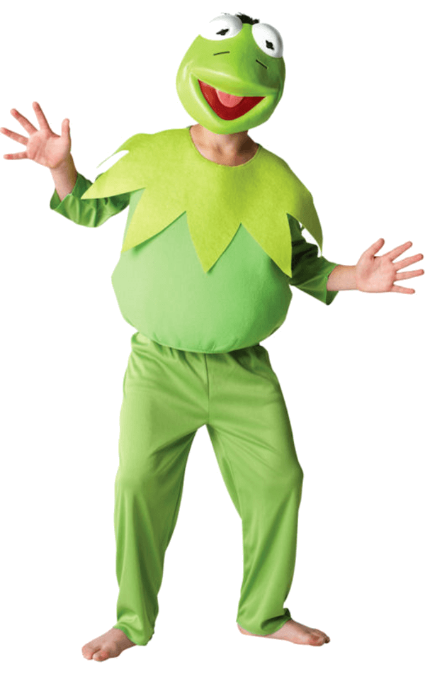 Child The Muppets Kermit Costume