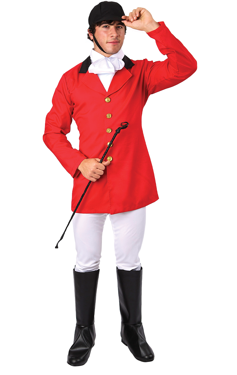 Mens Fox Hunter Costume