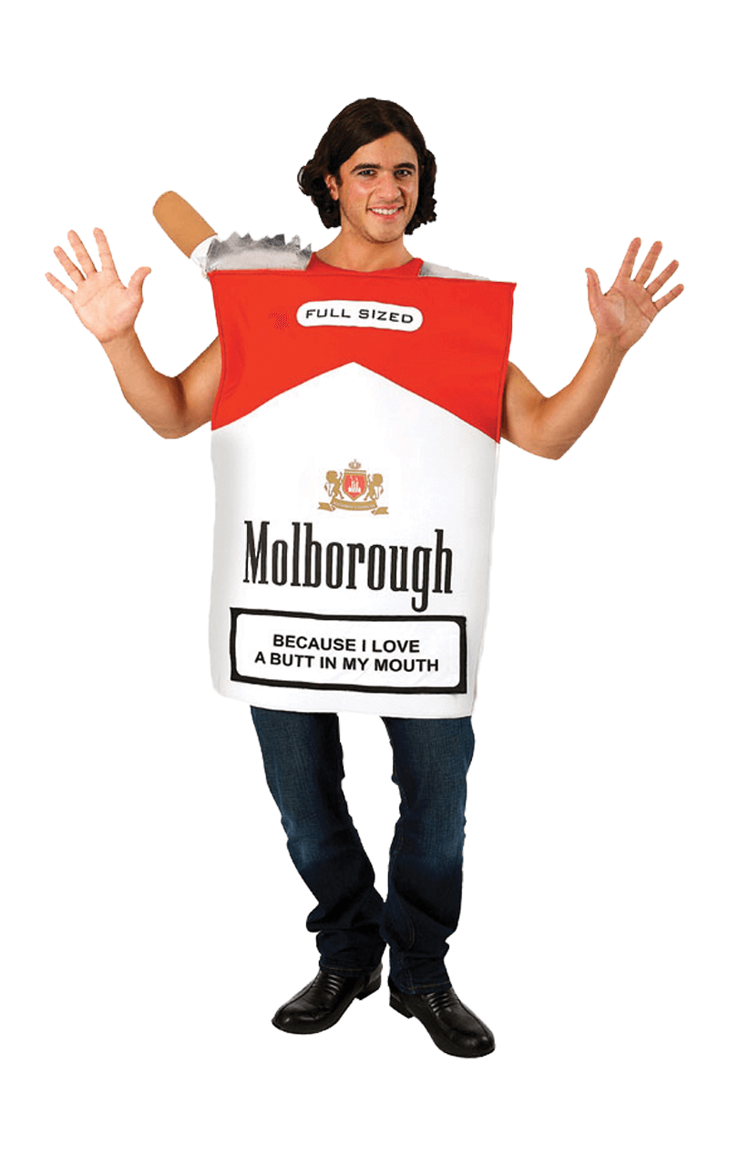 Mens Cigarette Packet Costume