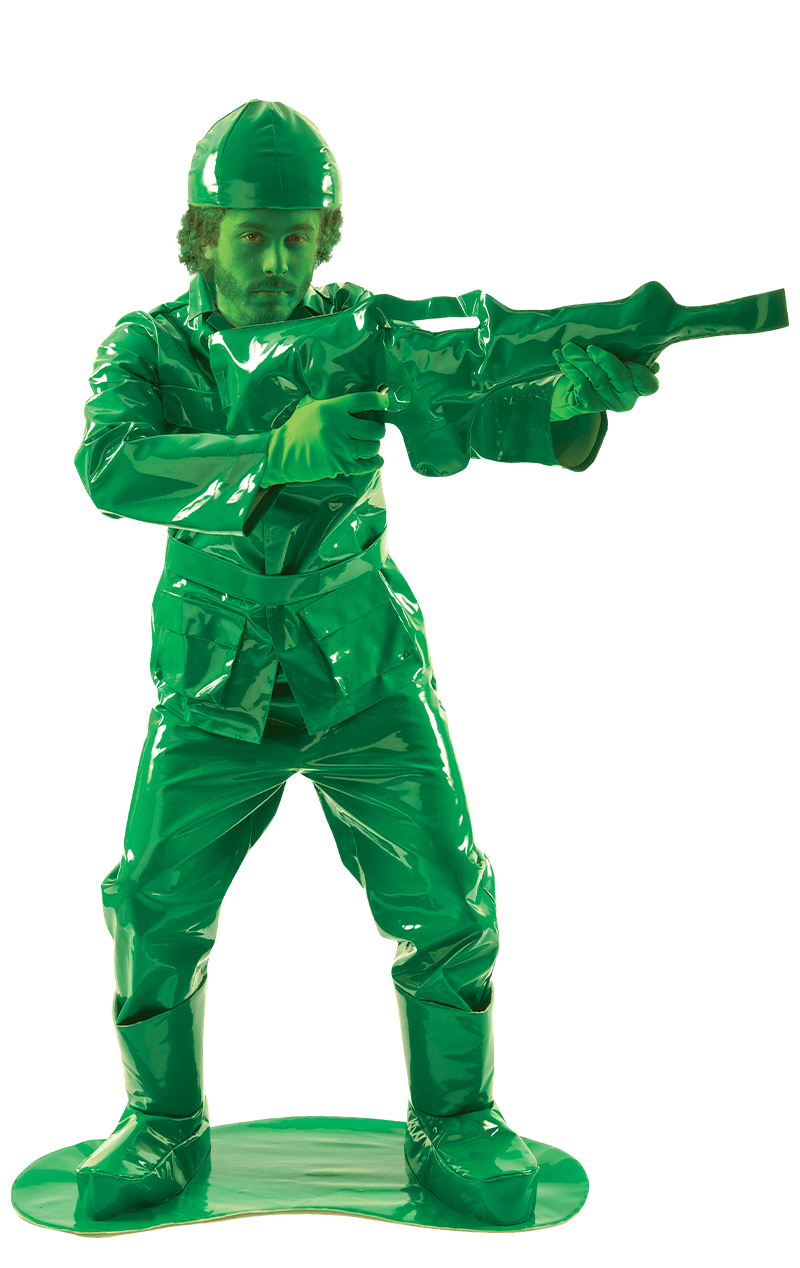 Mens Green Soldier Toy Story Costume