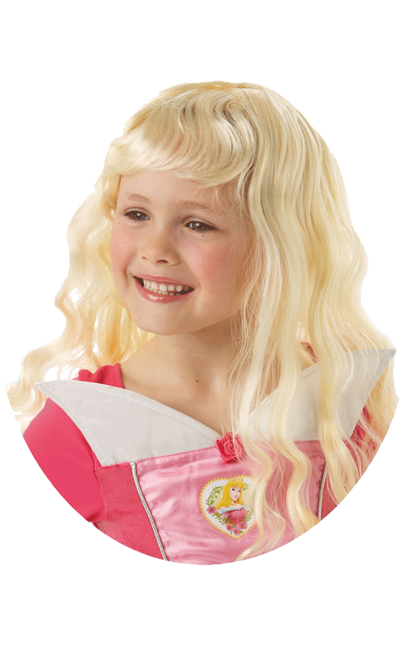 Child Disney Sleeping Beauty Wig