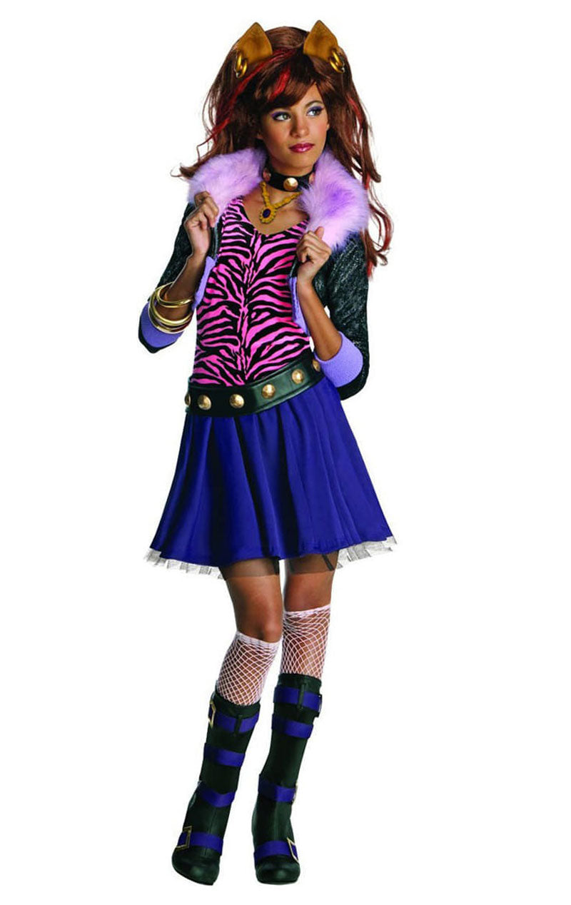 Child Monster High Clawdeen Costume