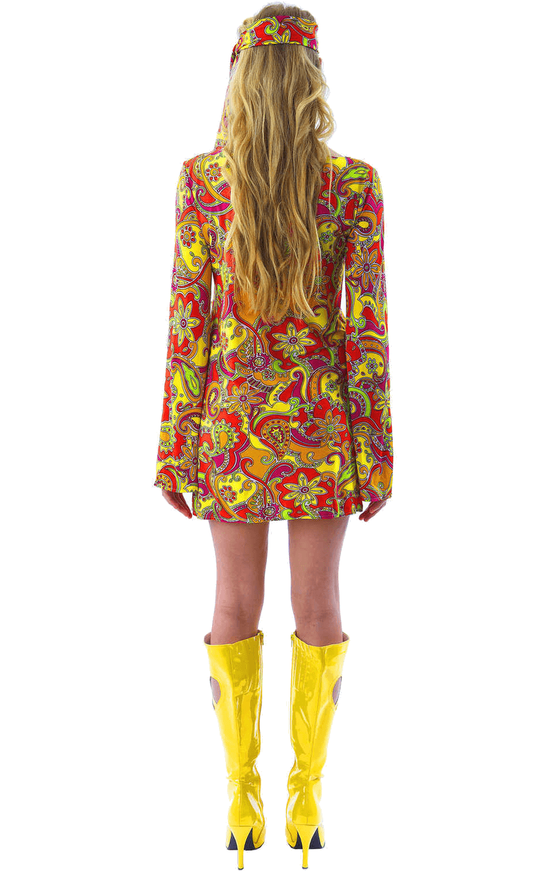 Female 1960s Hippie Costume