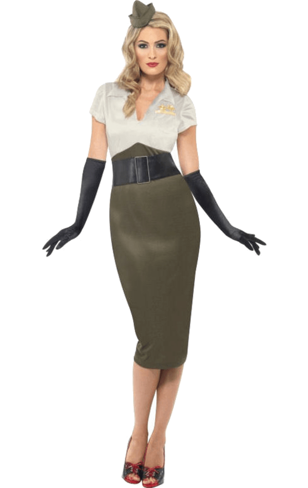 1940s Army Girl Costume