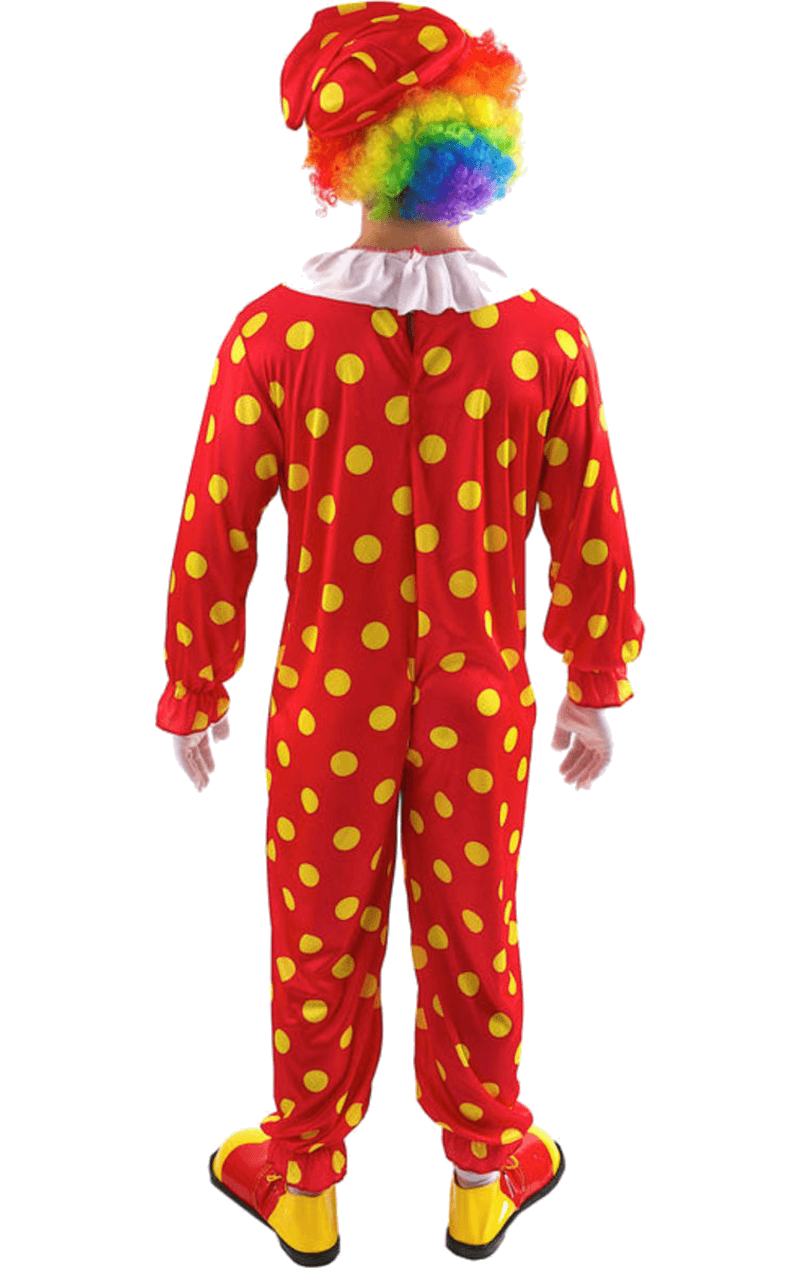 Mens Bobbles The Clown Costume