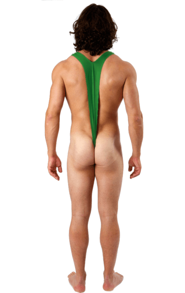 Borat Mankini Costume (Luminous Green)