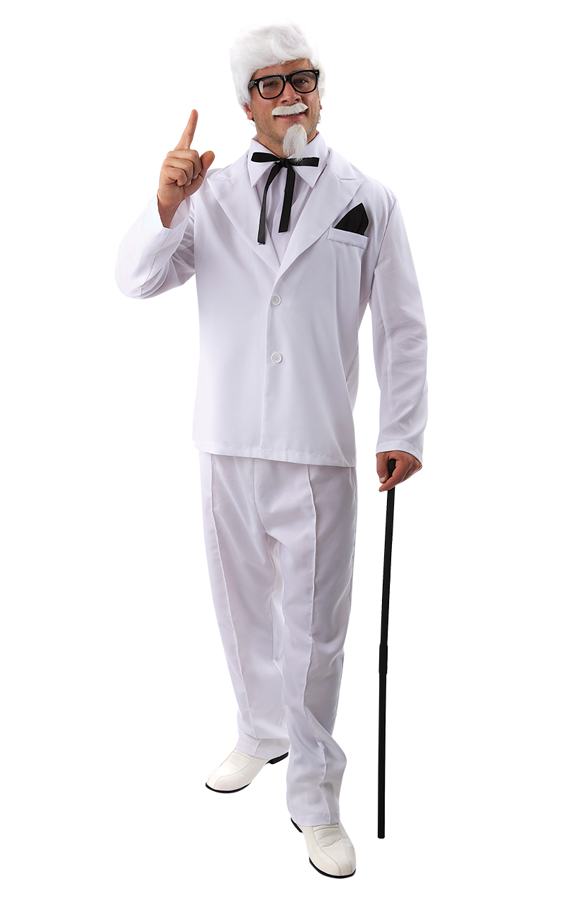 Mens KFC Colonel Costume