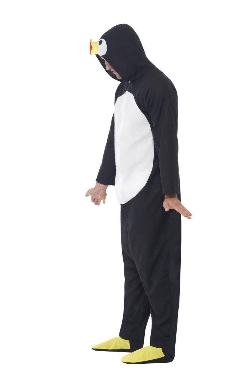 Adult Penguin Onesie Animal Costume